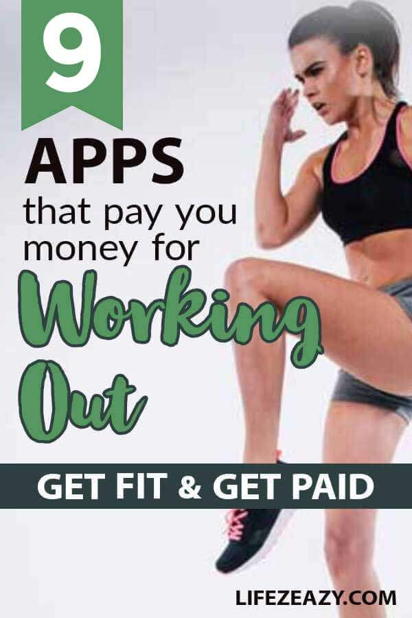 Apps that pay you to workout