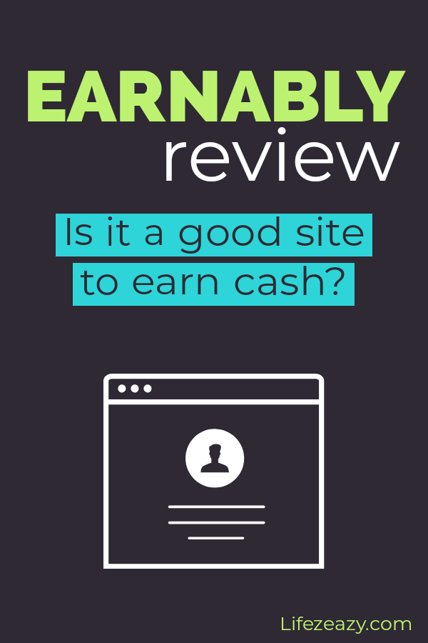 Earnably review Pinterest pin