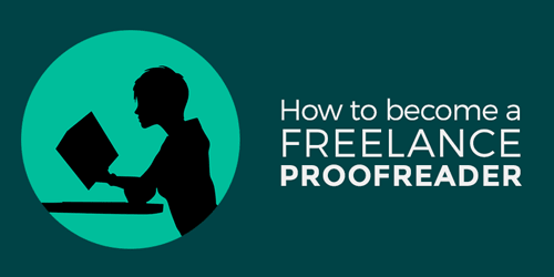 Cover of how to become a Freelance Proofreader