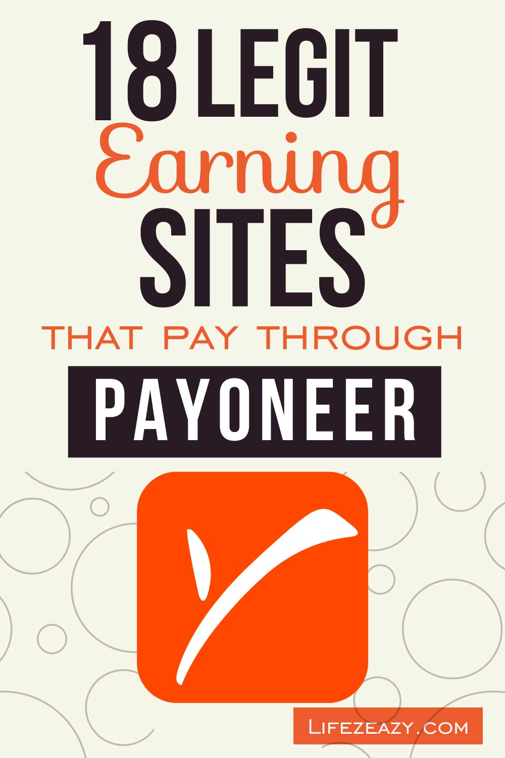 Earning sites that pay through Payoneer