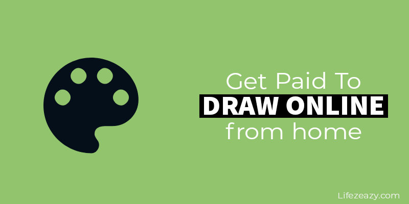 Blog post cover for Get paid to draw online
