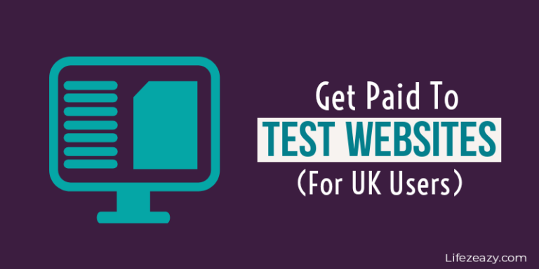 Get paid to test websites for UK users