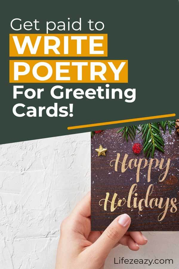 Get Paid To Write Poetry For Greeting Cards