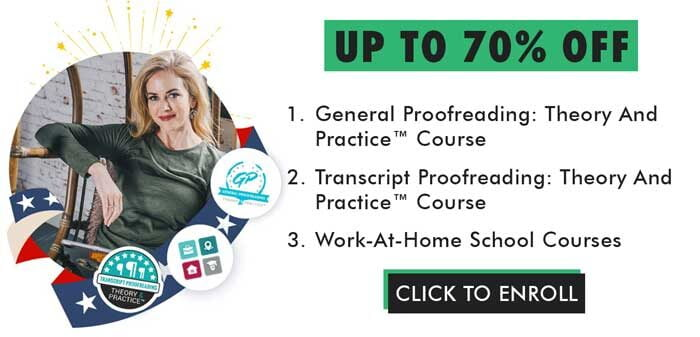 Proofreading Course Banner