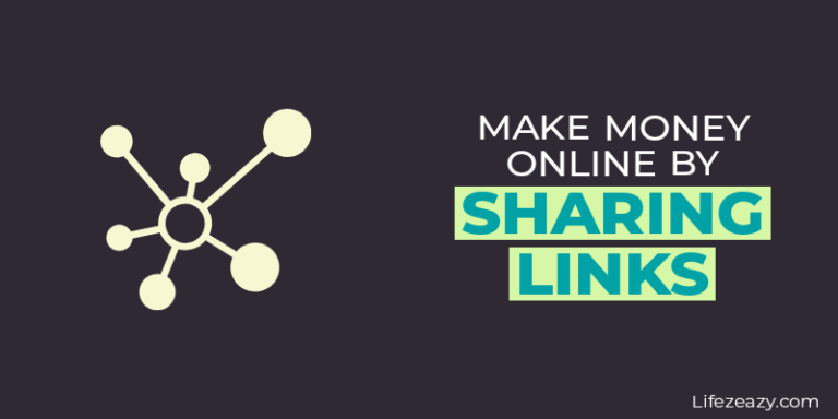Make money online by sharing links