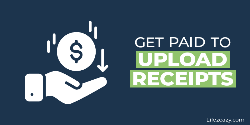 Get paid to upload receipts